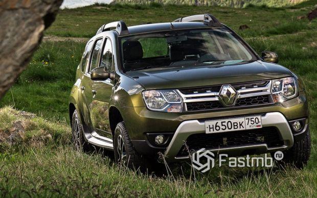 внешний вид Renault Duster