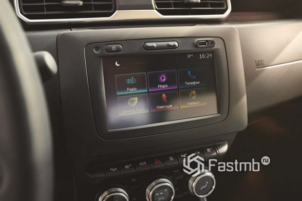 элементы интерьера Renault Duster