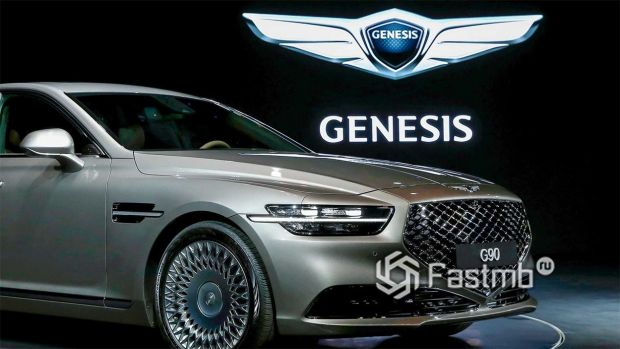 Решетка радиатора Genesis G90 2020
