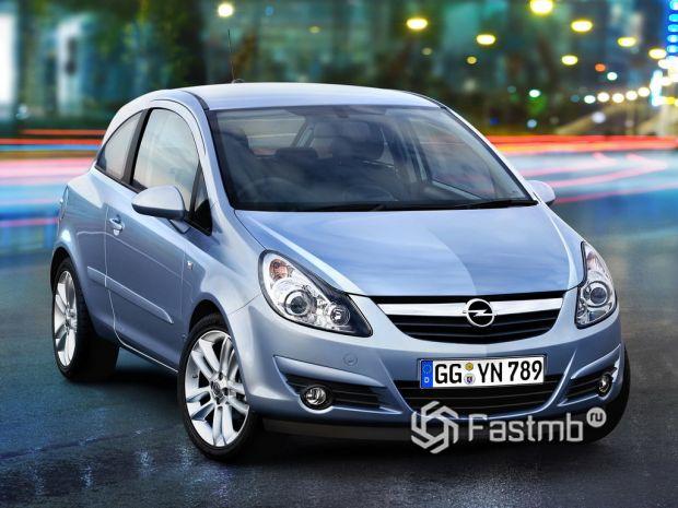 Opel Corsa IV