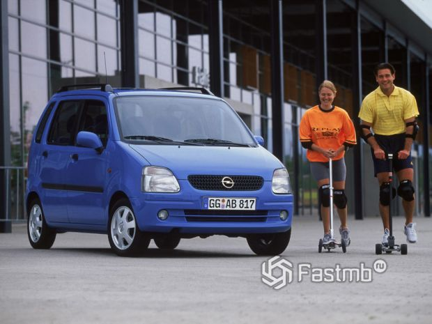 Opel Agila А