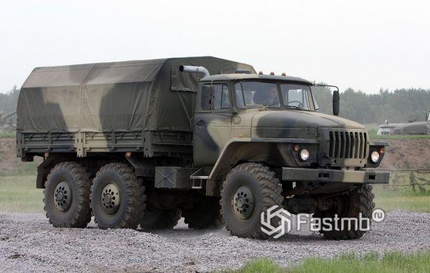 Урал-4320 производства России