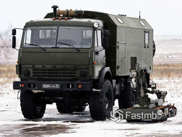КамАЗ-5350 производства России