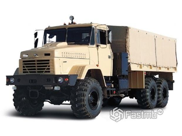 КрАЗ-6322 производства Украины