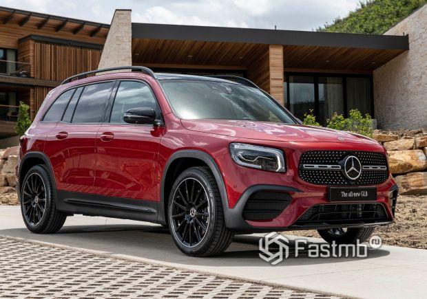 Стильный Mercedes-Benz GLB 2020