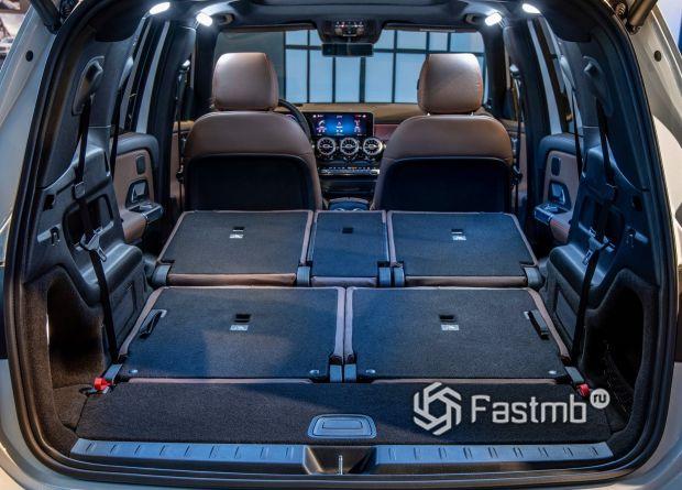 Багажное отделение Mercedes GLB