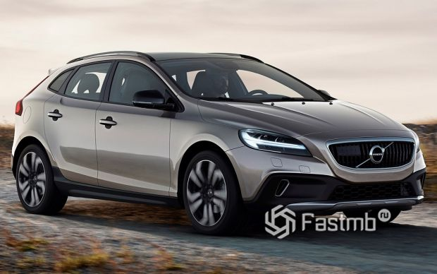 экстерьер Volvo V40 Cross Country