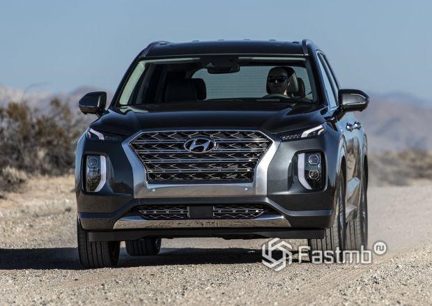 Современный Hyundai Palisade 2020