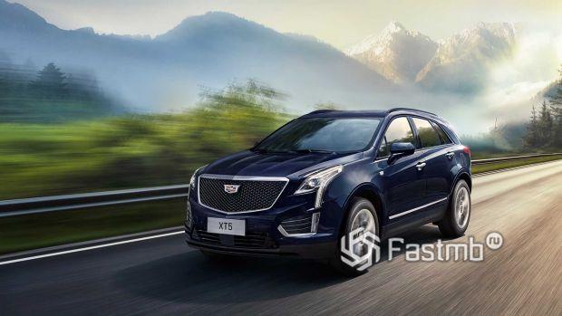 Обновленный Cadillac XT5