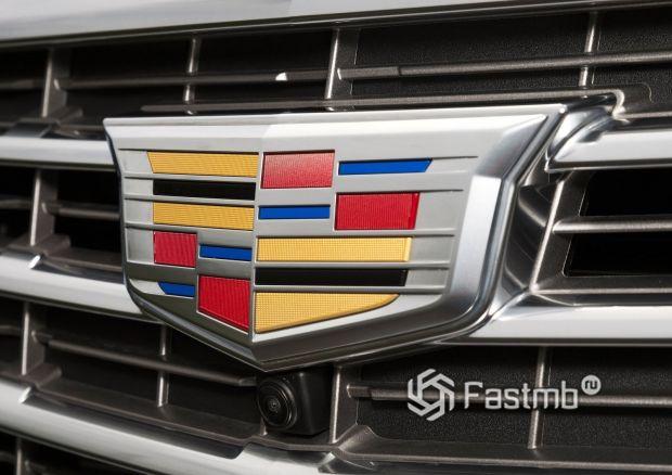 Эмблема компании Cadillac
