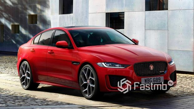 внешний вид Jaguar XE