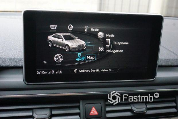 элементы интерьера Audi A4
