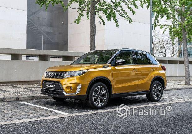Обновленная Suzuki Vitara 2018