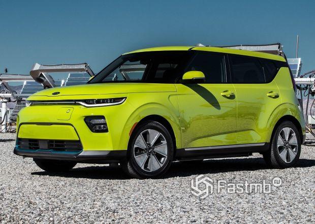 Электрический Kia Soul EV 2020