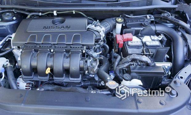мотор Nissan Sentra