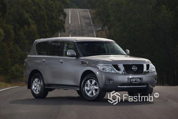экстерьер Nissan Patrol 2014