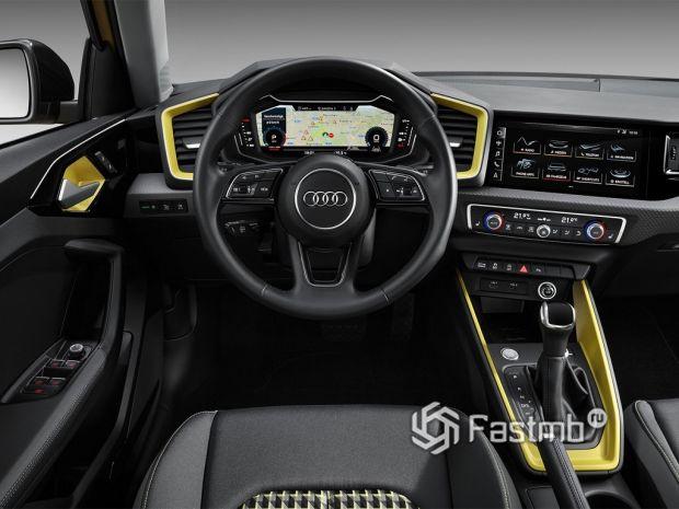 приборная панель Audi A1 Sportback