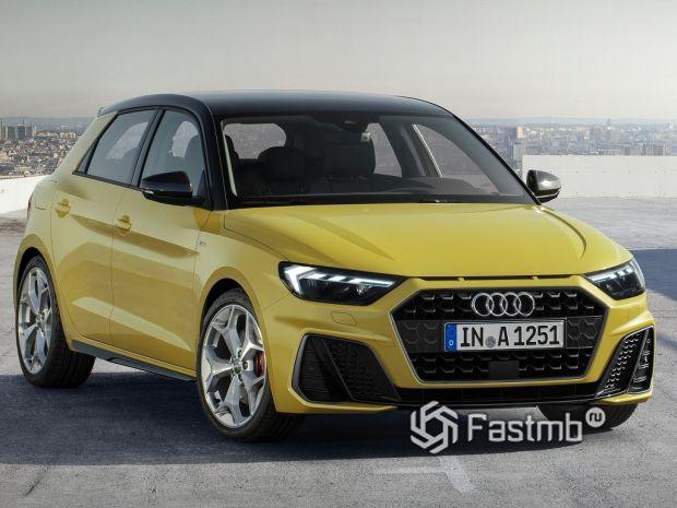 второе поколение Audi A1