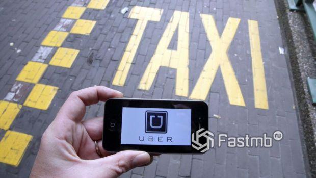 Таксист в фирме-партнере в Украине