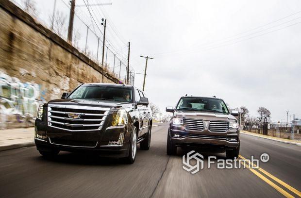 Cadillac Escalade & Lincoln Navigator, 2015