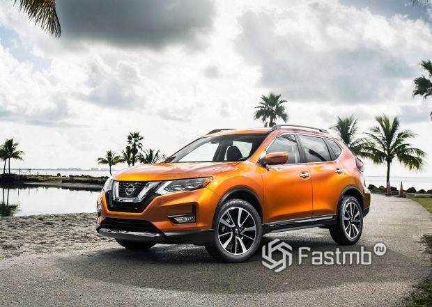 Новая генерация Nissan X-Trail 2018