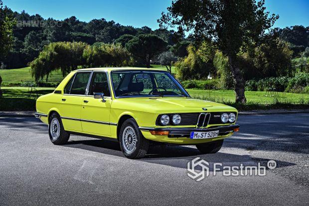 первое поколение BMW E 12