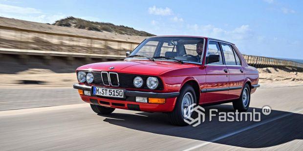 Второе поколение. BMW E 28 (1984-1988 гг.)
