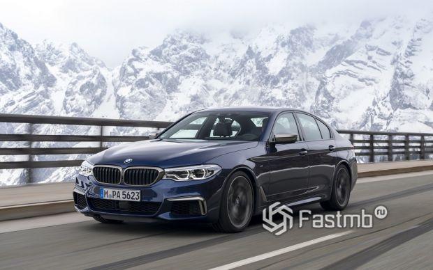 Седьмое поколение. BMW G 30 (2017-по настоящее время)