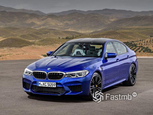 Эволюция BMW M5
