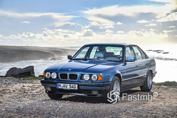 Третье поколение. BMW E 34 (1988-1995 гг.)