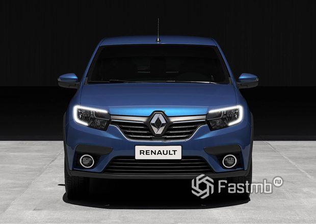 Передняя оптика Renault Sandero 2020