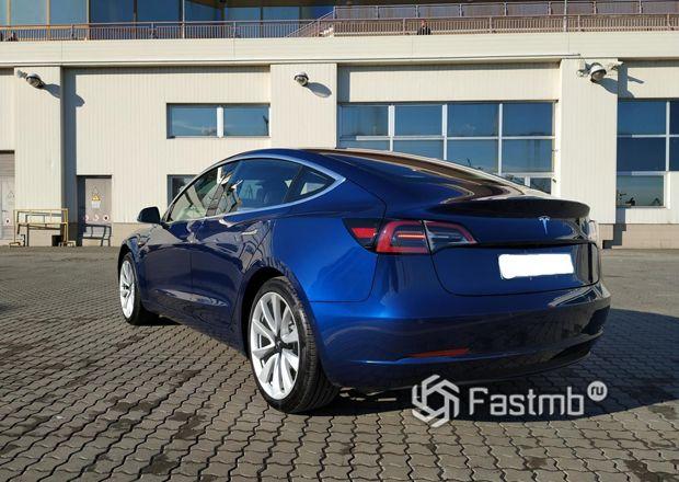 Задние стопы Tesla Model 3