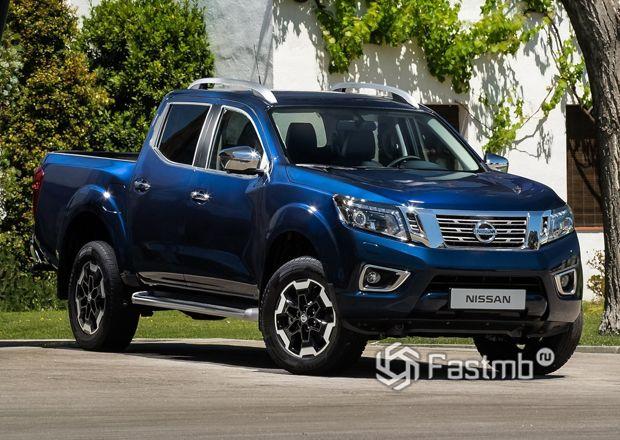 Обновленный Nissan Navara 2020