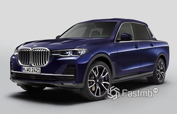 Концепт BMW X7 Pick-up 2020