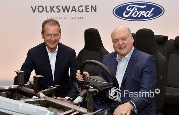 Партнерство Ford и Volkswagen