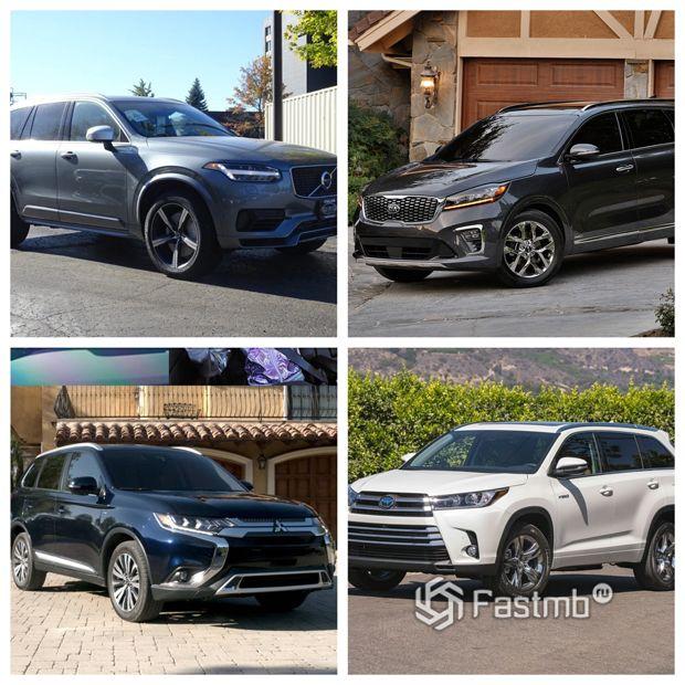 Самые экономные SUV в 2019 году