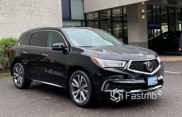 Новая Acura MDX 2019