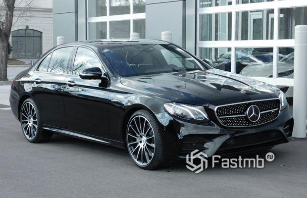 Новый Mercedes-Benz E-Class