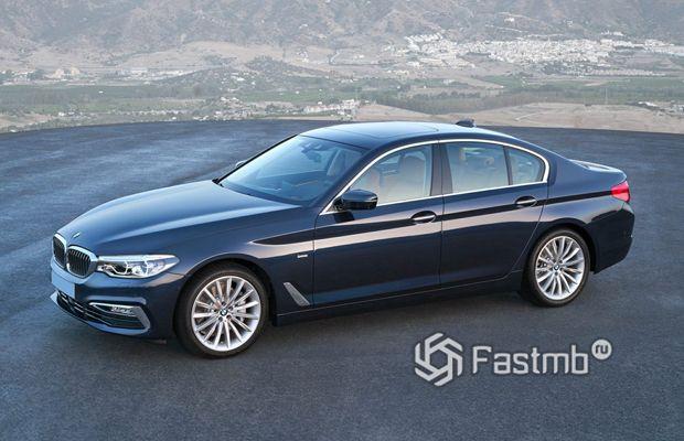 Седан BMW 5-Series 2019