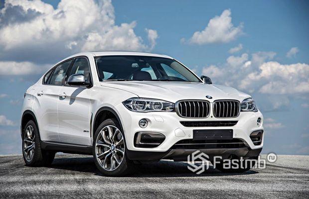 Кроссовер BMW X6 2019