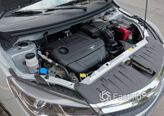 Бензиновый двигатель Haima M3
