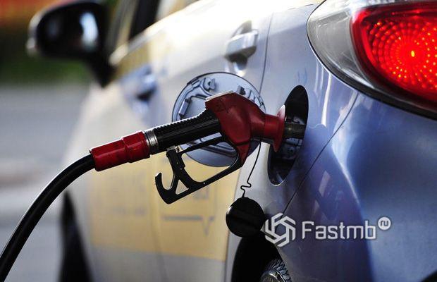 Маркировка бензина на крышке заправочной горловины