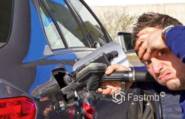 Что делать если залил не тот бензин в бак