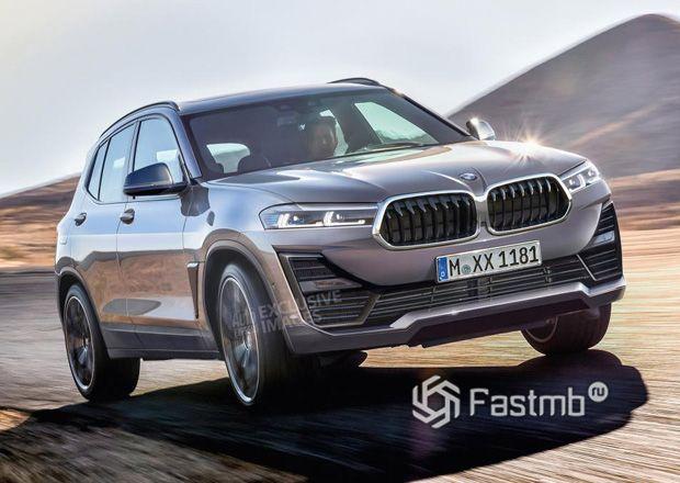 Новый BMW Urban X, вид спереди