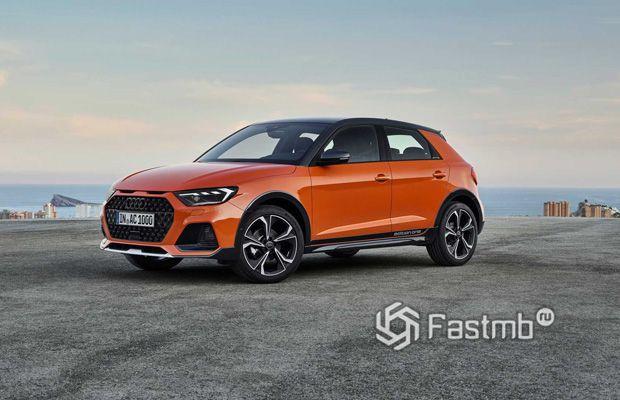 Новый кроссовер Audi A1 Citycarver