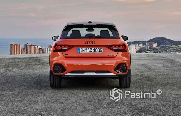 Светодиодные стопы Audi A1 Citycarver