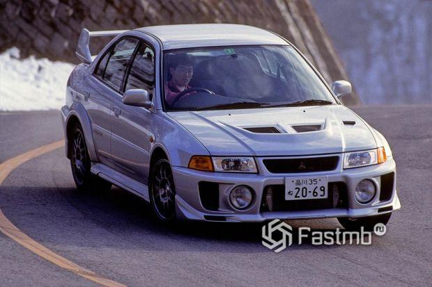 Lancer GSR Evolution V, 1998