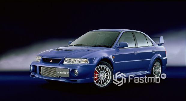 Lancer GSR Evolution VI, 1999