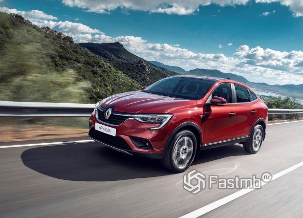 Новый Renault Arkana 2020