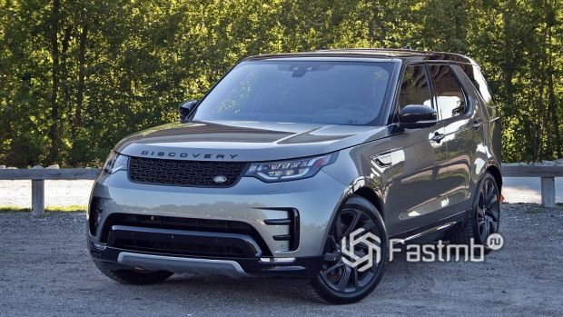 Land Rover Discovery 2017 года